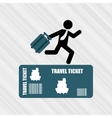 travel concept design vector image