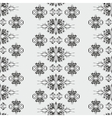 Wallpaper pattern damask style vector image vector image