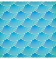 Blue fish scales seamless pattern vector image