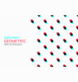 geometric background with small circles vector image vector image