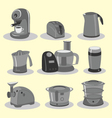 kitchen equipments vector image