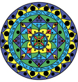 Mandala Multicolored vector image vector image
