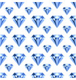 pattern with diamonds seamless pattern can vector image vector image