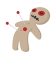 Voodoo doll cartoon icon