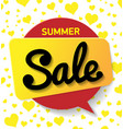 web banner sale summer summer background vector image vector image