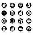 Action movie black and white vector image vector image