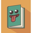 book character isolated icon design vector image vector image