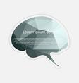 Brain sticker vector image