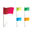Flapping flags vector | Price: 1 Credit (USD $1)