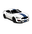 ford mustang vector image vector image