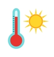 Hot Weather vector image