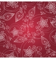Ornamental seamless floral pattern cucumbers vector image vector image