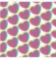 pop art hearts vector image vector image