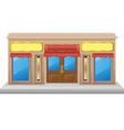 shop facade 03 vector image vector image