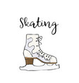 Skate icon simple of skate colored