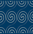 squiggles seamless pattern vector image vector image