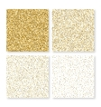 a square gold cards vector image