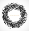 abstract black circle background with lines