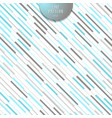 abstract stripe blue and gray diagonal lines vector image vector image