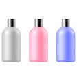 Cosmetic bottle vector image vector image