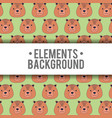 elements background design vector image