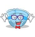 geek baby diaper character cartoon vector image vector image