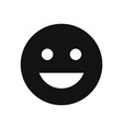 good mood emoticon icon vector image
