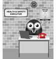 Health and Safety Executive vector image vector image