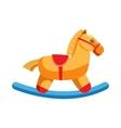 Horse rocking icon cartoon style vector image vector image