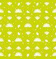 lemon orange fruits seamless pattern background vector image vector image