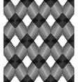 monochrome stripy endless pattern art continuous vector image