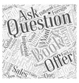Questions to Ask Publishers Before Accepting an vector image vector image
