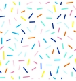 seamless cute and funky pattern of dashes