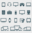 set of devices icons vector image vector image