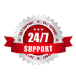 24-7 support button