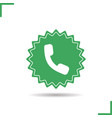 call us now sticker vector image