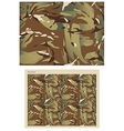 Camouflage Repeat Print - vector image vector image