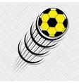 football soccer design vector image vector image