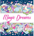 magic dreams background wallpaper texture vector image