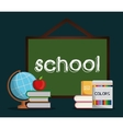 School design Education concept Learning icon vector image vector image
