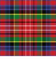 seamless pattern Caledonia Scottish tartan vector image vector image