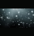 seasonal winter holiday background festiveal vector image vector image