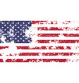 usa official national flag vector image vector image