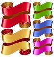ribbon frame set vector image