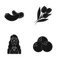 cooking hippies and other web icon in black style vector image