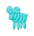 animal ram balloons balloon animals for vector image
