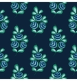 Blue berries seamless pattern stock natural vector image