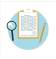 Business documents concept vector image