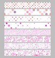 color abstract dot pattern rectangular web banner vector image vector image