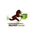 Delivery service logo